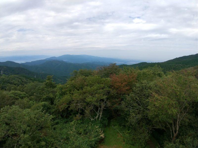 金剛山の展望台の画像
