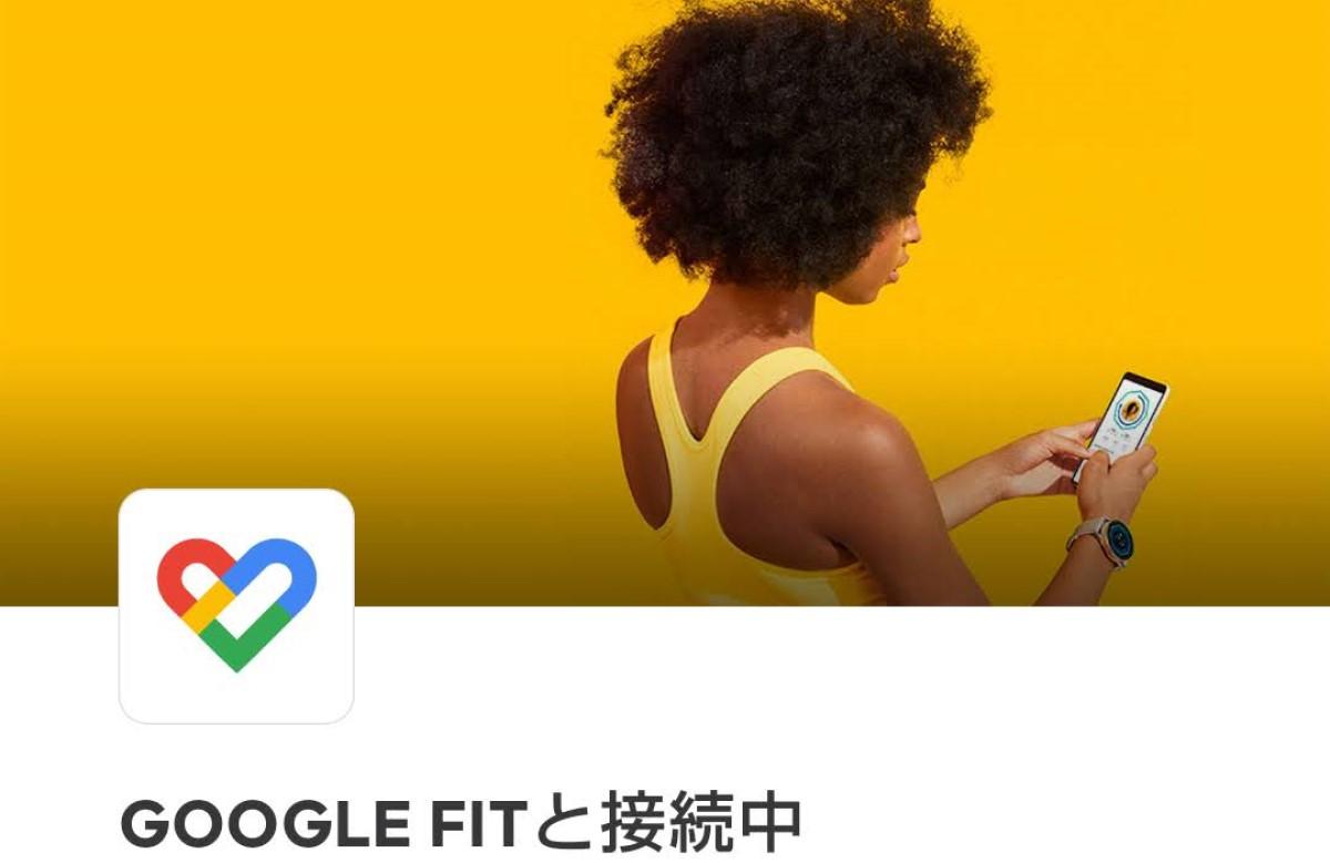 Google Fitへの接続の画像